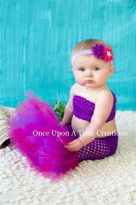 Set Tutu Baby 0 12 Bln purple princess fishtail tutu set baby guppies size newborn 3 6 9 12 months the