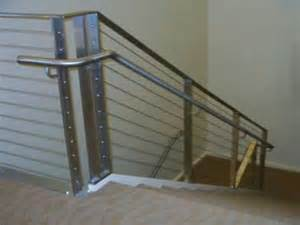 Types Of Handrails Cable Railing Home Custom Cable Railing