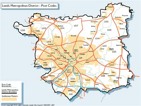 printable map leeds city centre useful map of leeds showing areas postcodes tattoo to
