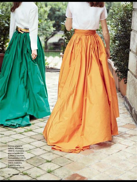 Abaya Kombinasi Maxmara max mara elegante summer taffeta skirt hijabifashion https www