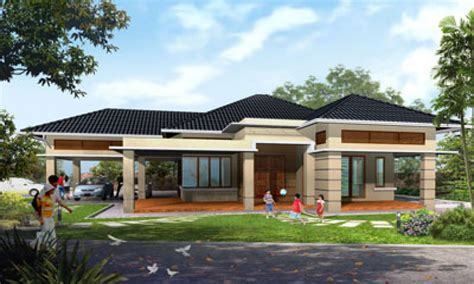 One Story Home Plans by Best One Story House Plans Single Storey House Plans