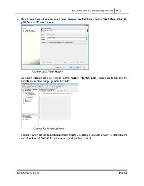 layout java là gì membuat layout java dengan netbeans