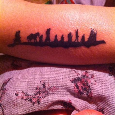my new lord of the rings tattoo tattoos pinterest