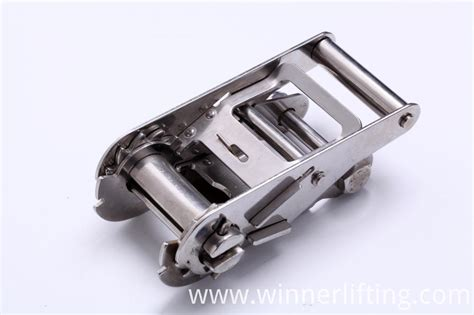 1 Stainless Ratchet - china 2 inch midium handle ss304 ratchet buckle manufacturers