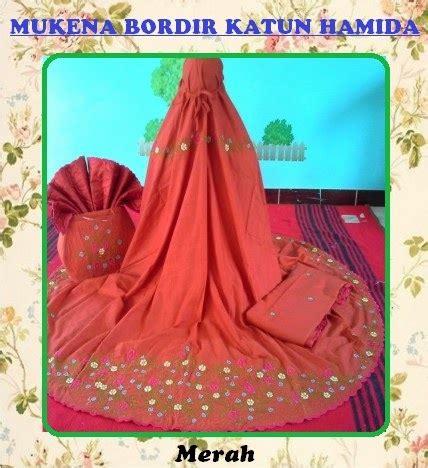 Mukena Seroja by Mukena Bordir Audrasya Mukena Bordir Katun Hamida