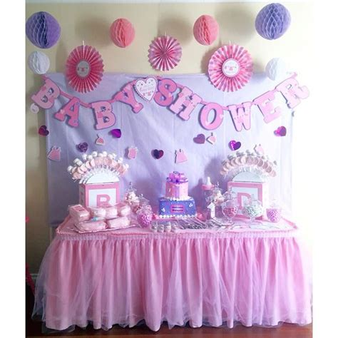 Pink And Lavender Baby Shower by Pink Lavender Baby Shower Dessert Table