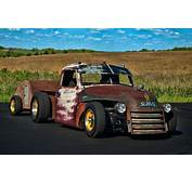 1948 Gmc 4100 Rat Rod Pickup With Trailer Photograph By