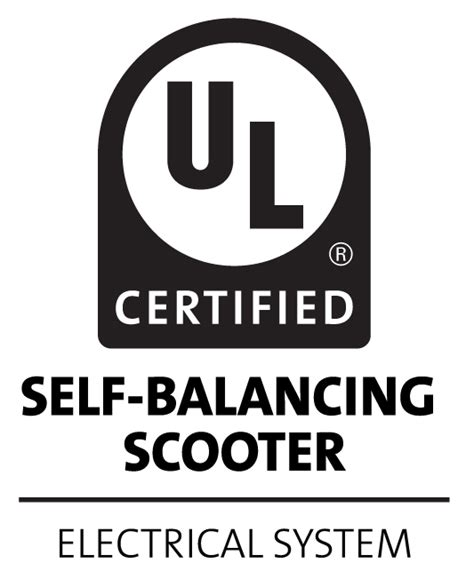 ul certification letter certification for next generation personal e mobility ul