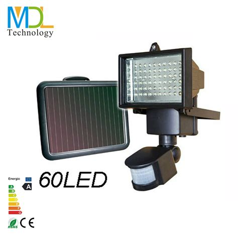 Solar Panel Flood Lights Solar Panel 9v Led Flood Light With Pir Motion Sensor