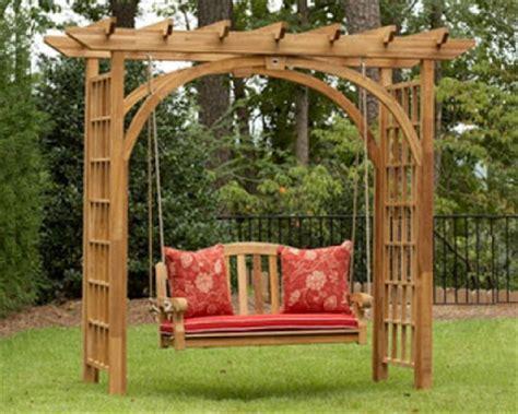 swing pergola designs garden pergola with swing backyard and patios