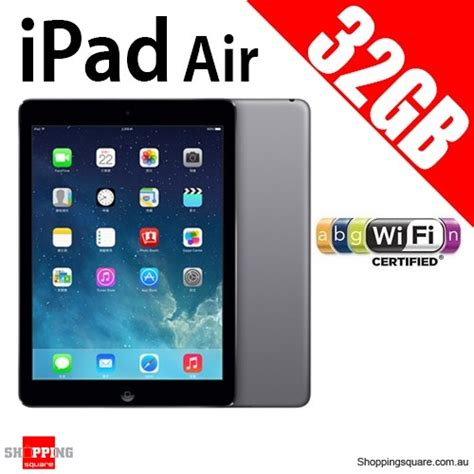 Air Cellular 32gb apple air ips 32gb 9 7inch wifi tablet grey shopping shopping square au