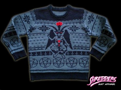shredders knit apparel baphomet idol idea and archetype the hermetic library