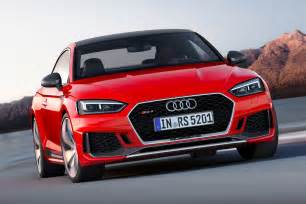 new audi rs5 revealed audi sport delivers its post rebrand rs by car magazine
