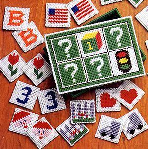plastic canvas pattern maker online let s make some games in plastic canvas patterns memory