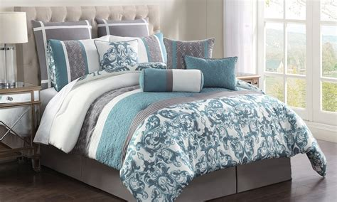 groupon comforter set adeline 10 piece comforter set groupon goods