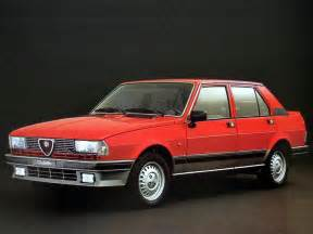 Alfa Romeo 1977 Automotive Database Alfa Romeo Giulietta 1977