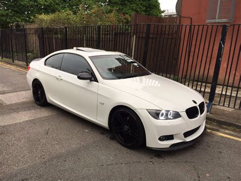 2008 58 bmw 320i m sport e92 coupe alpine white light