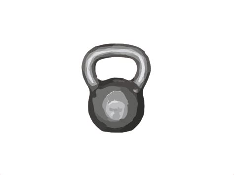 Kettlebell Clipart Outline by The Gallery For Gt Kettlebell Clipart Outline