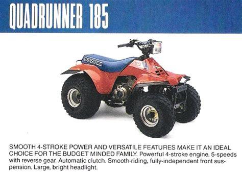 1987 suzuki quadrunner 300 pictures to pin on