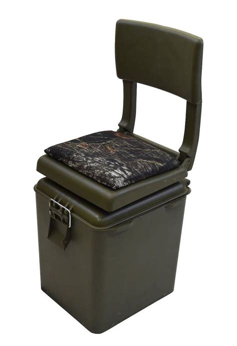 camo boat cooler seat hunting fishing seat insulated cooler green camo stool
