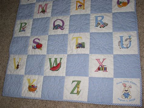 Baby Quilt Cross Stitch by Free Embroidery Designs Embroidery Designs