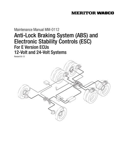 wabco abs wiring diagram schematic allison