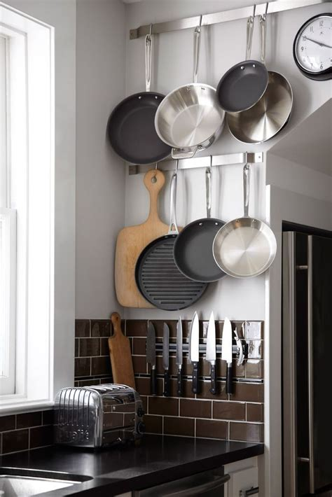 cool kitchen storage ideas 58 cool kitchen pots and lids storage ideas digsdigs