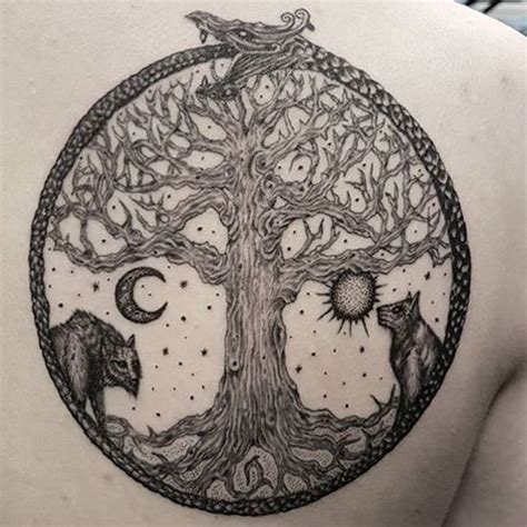 yggdrasil tattoo collection of 25 yggdrasil