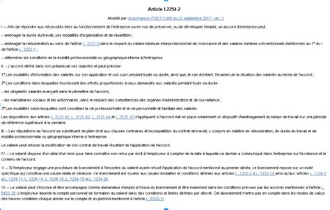 Modification Contrat De Travail Délégué Du Personnel by Mesurez L Impact Des Diff 233 Rents Textes Sur Le Contrat De