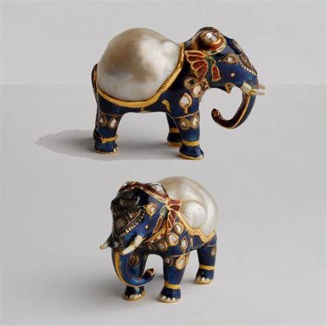 Elephant Figurines Splendors Of Mughal India I Reena Ahluwalia