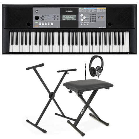 portable keyboard bench disc yamaha psr e233 portable keyboard with stand bench