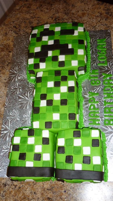 Minecraft Cake Pillow by 17 Best Images About Minecraft On Perler Minecraft Cookies And Birthdays