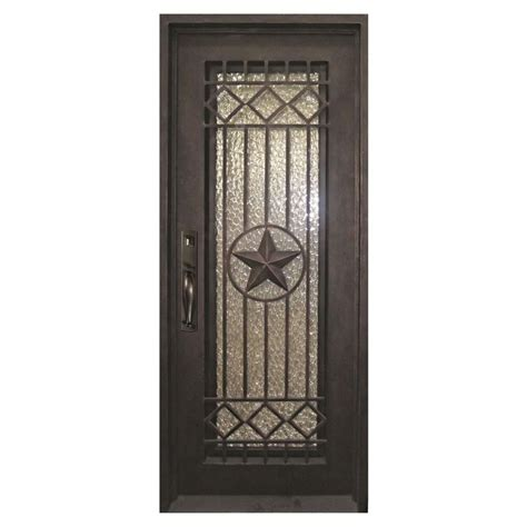 Bronze Door by Iron Doors Unlimited 40 In X 98 In Classic