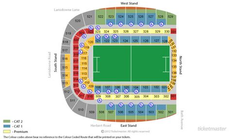 croke park interactive seating plan dublin friday 24 march 2017 travel and accom apostle