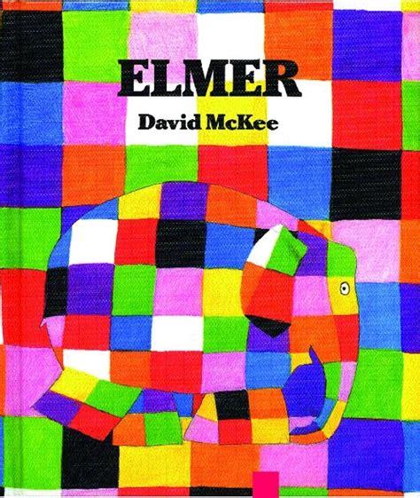 Elmer The Patchwork Elephant Book - elmer the elephant inspired weavings