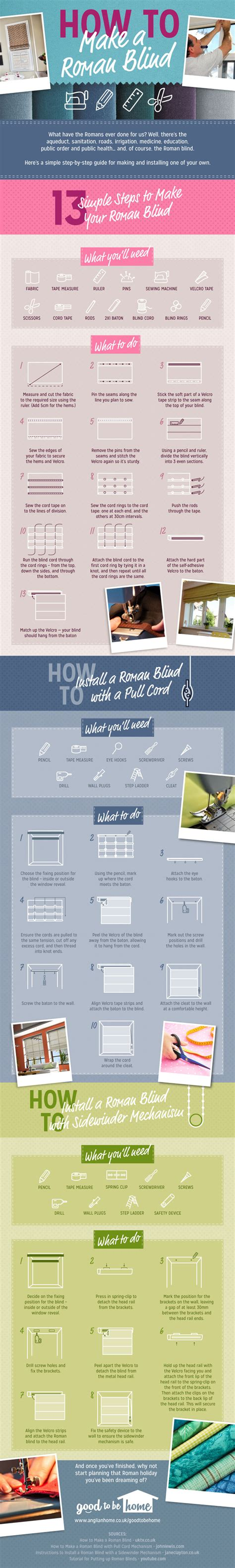 how to a blind how to make a blind a printable step by step guide