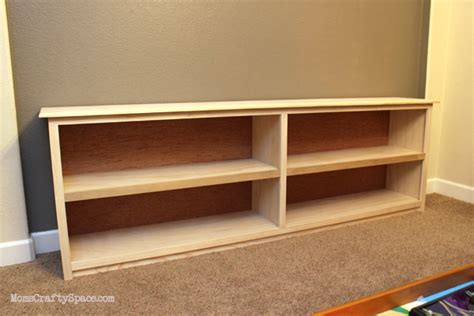 Long Low Bookcase Wood The Tale Of The Green Bookcase Happiness Is Homemade