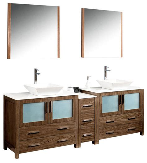 84 inch vanity 84 inch sink bathroom vanity in espresso walnut