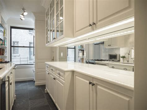 custom backsplash mirror traditional kitchen new york by paula mcdonald pmd development llc