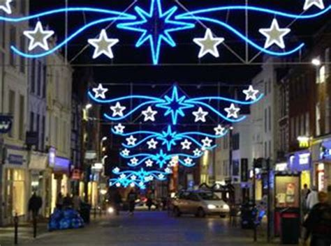 the penzance christmas lights festival heart south west