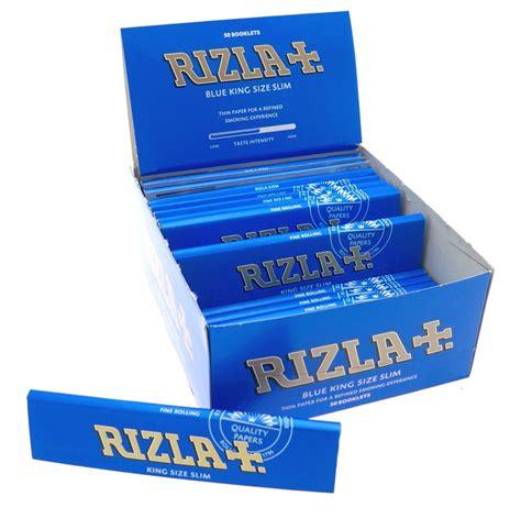 How To Make Cigarette Papers - rizla blue king size slim genuine cigarette