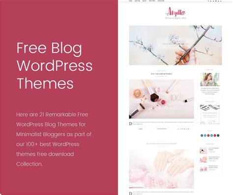 21 remarkable free wordpress blog themes for bloggers