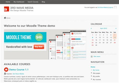 moodle theme banner how to add a promotional banner to your moodle front page