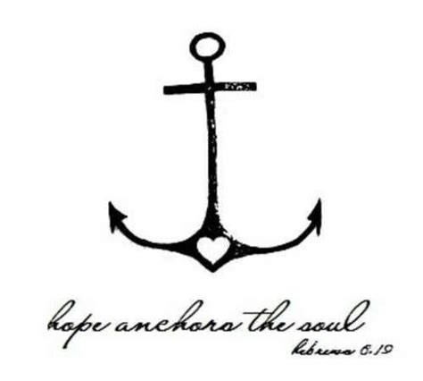 anchor and cross tattoo anchor meaning safety fidelity stability
