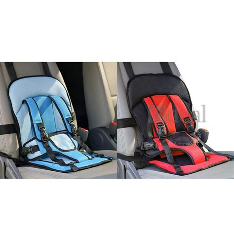Baby Car Seat Portable adjustable portable baby child infant car seat safety belt