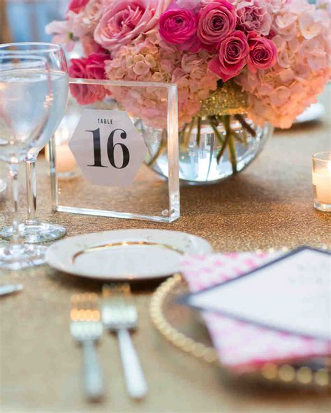 acrylic table numbers wedding the prettiest wedding table number ideas from