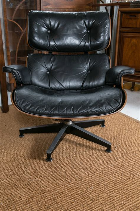 vintage eames lounge chair and ottoman vintage eames lounge chair and ottoman at 1stdibs