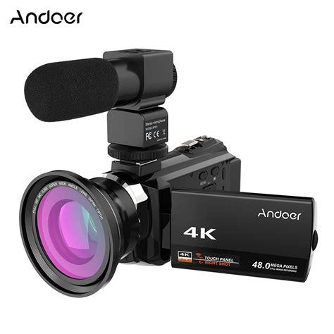 camara digital de video andoer 4k 1080p 48mp wifi digital video camera camcorder