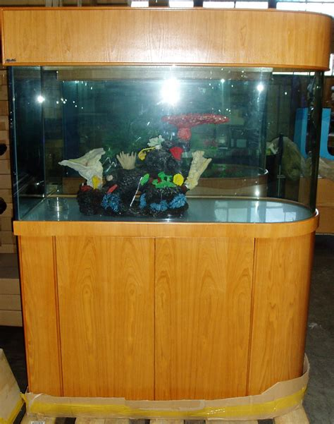 Aquarium Room Divider 100 Gallon Fish Tank Divider Ov 100 Gal U Shape Room Divider F103 Cherry Ov 120 Gal W
