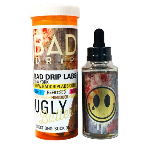 Bad Bunny Banana Custard 60ml 3mg bad drip e liquid butter 60ml simply eliquid e liquid e cig kits vape kits e
